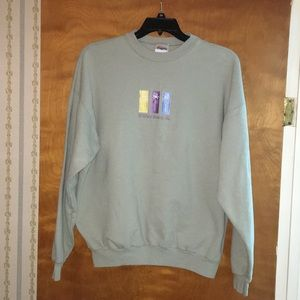 Pair of XL long sleeve shirt and sweatshirt.